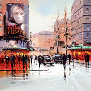 Gay Paris by Henderson Cisz