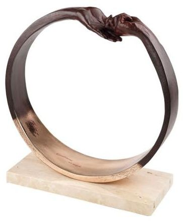give-take-iii-bronze-plated-resin-6424