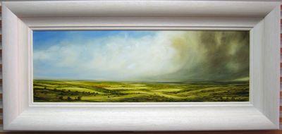 Golden Landscape by Harry Brioche