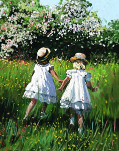 Golden Meadow by Sherree Valentine Daines