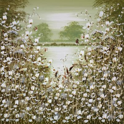 Golden Pool IV by Mary Shaw