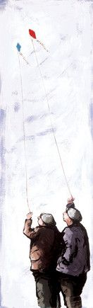 High Flyers - White Frame