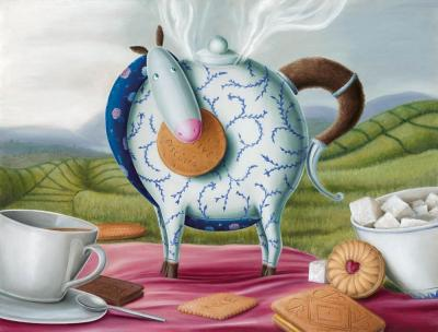 High Tea Hee-Haw by Peter Smith