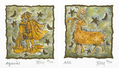 Horoscope Diptych small