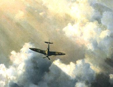 Immortal Hero - Spitfire by David Shepherd