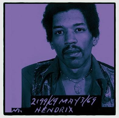 Jimi Hendrix by Louis Sidoli
