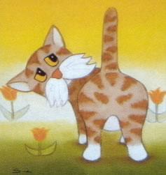 Kitty Characters- Rumpole
