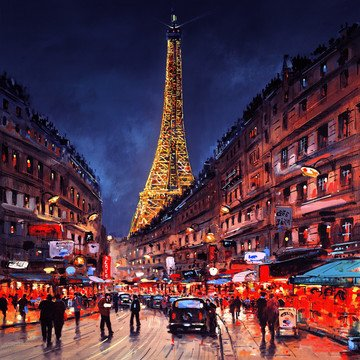 La Tour Eiffel by Henderson Cisz
