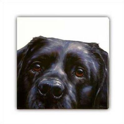 Lab (Canvas) - Black Labrador