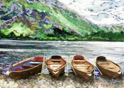 Lakeland Boats by Timmy Mallett