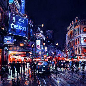 London By Night by Henderson Cisz