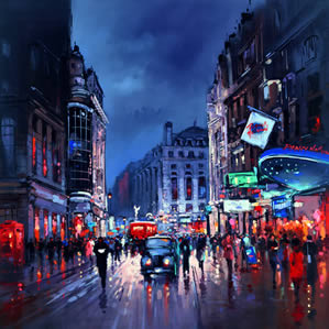 London Piccadilly by Henderson Cisz