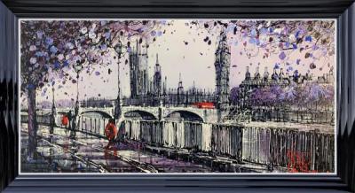 London's Purple Haze by Nigel Cooke