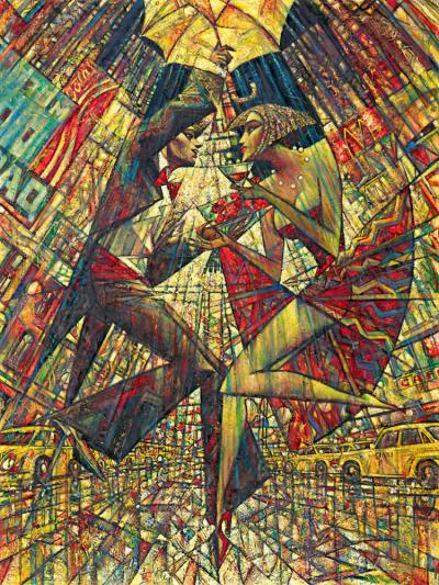 Love in Times Square by Andrei Protsouk