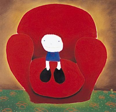 Love Seated by Mackenzie Thorpe