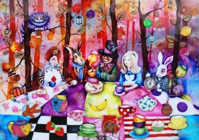 Mad Hatters Tea Party by Kerry Darlington