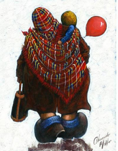 Mam - Large by Alexander Millar