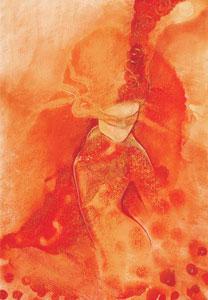 Masked Reverie I by Charlotte Atkinson