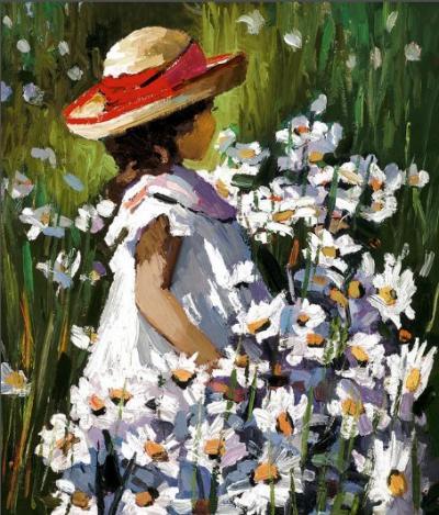 Midsummer Daisies by Sherree Valentine Daines