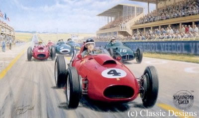 Mike Hawthorn - World Champion 1958 by Tony Smith