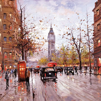 Morning in Westminster by Henderson Cisz