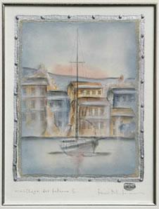 Mouillage De Bateaux III by Kevin Blackham