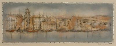 Mouillage Des Bateaux I by Kevin Blackham