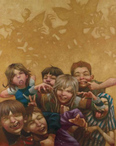 Never Feed Them After Midnight - Boxed Canvas by Craig Davison