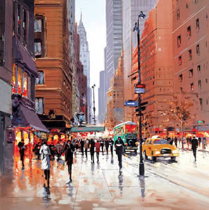 New York City by Henderson Cisz