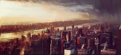New York Nightful by James Blinkhorn