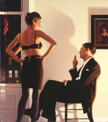 Night In The City by Jack Vettriano