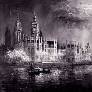 night-on-the-thames-on-aluminium-17104