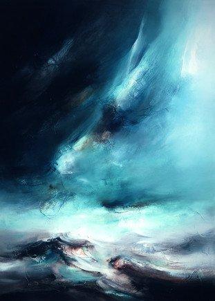 Northern Lights III by Chris & Steve Rocks