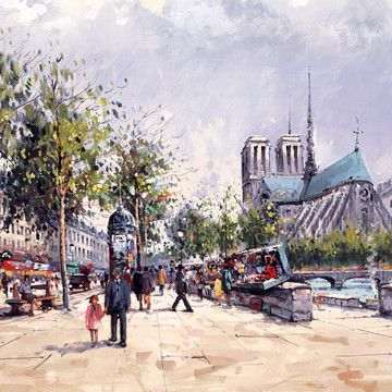 Notre Dame De Paris by Henderson Cisz