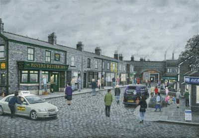 On The Cobbles- Paper by Leigh Lambert