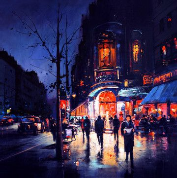 Paris By Night by Henderson Cisz