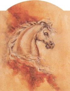 Pegasus 1 - Horse by Joy Kirton Smith