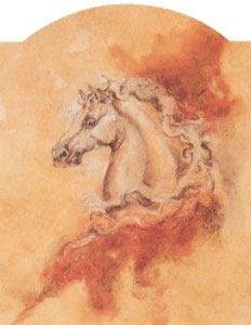 Pegasus 2 - Horse by Joy Kirton Smith