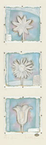 Petit Fleur 7,8,&9 (Portrait) by Kevin Blackham