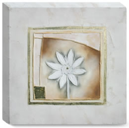 Petit Fleur I - Box Canvas small