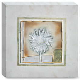 Petit Fleur II - Box Canvas by Kevin Blackham
