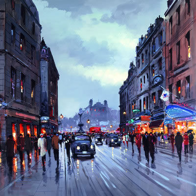 Piccadilly Circus (London) by Henderson Cisz