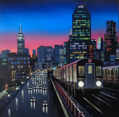 New York Tracks by Neil Dawson