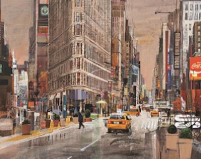 Pride Of Manhattan by Tom Butler