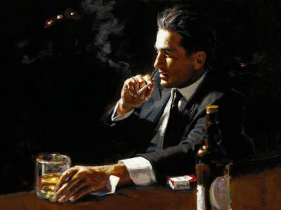 Proud to be a Man III by Fabian Perez