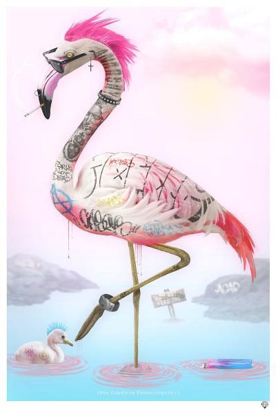 punk-flamingos-black-frame-30433