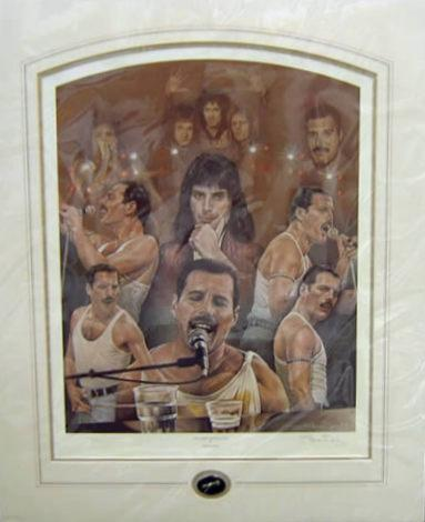 Queen - Freddy Mercury - The Show Must Go On