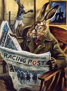 Racing Post by Mick Cawston