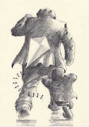 Reach For The Sky (Pencil Sketch) by Alexander Millar