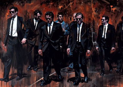 Reservoir Dogs by Zinsky